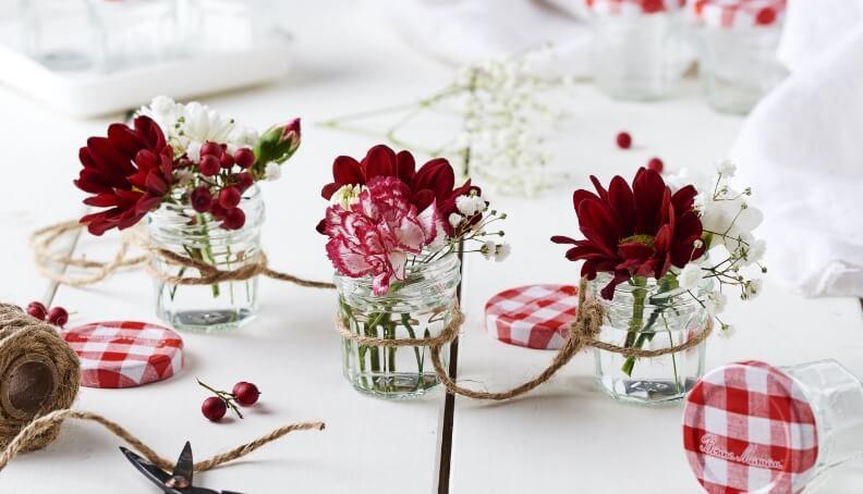 Vázičky na květiny