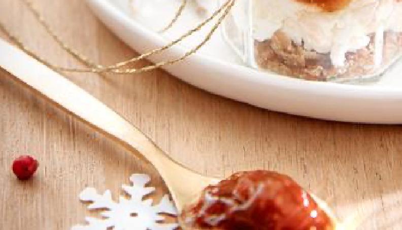 Poháry s fíkovou marmeládou
