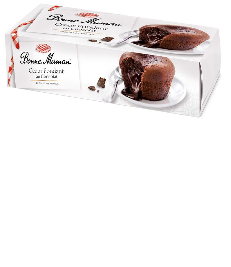 Čokoládový dortík s tekutou čokoládou