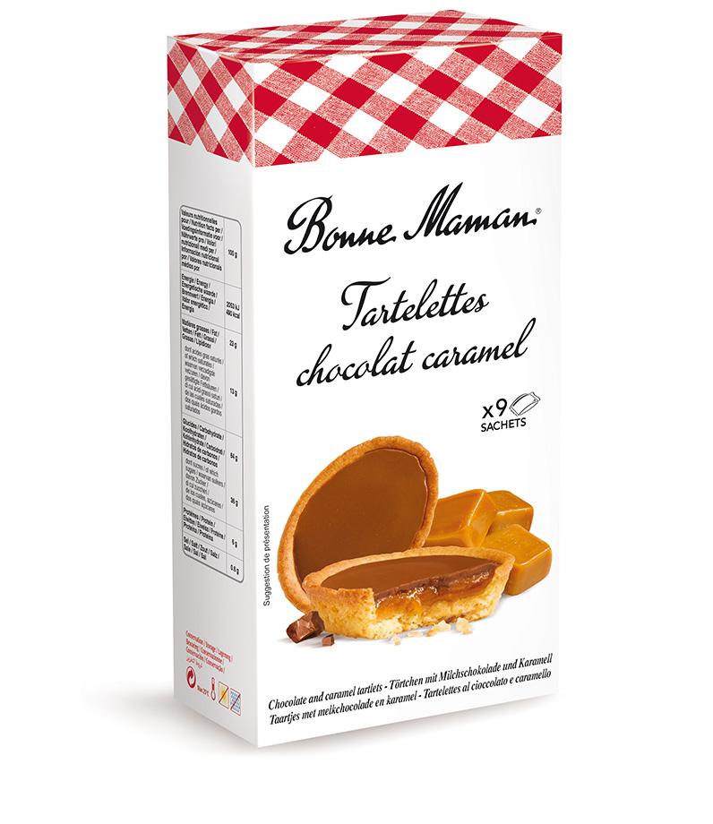 Tarteletky čokoláda karamel