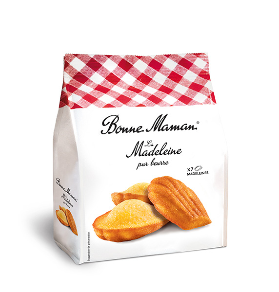 Madeleines máslové